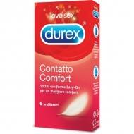 DUREX CONTATTO COMFORT  6 pz.