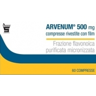 ARVENUM 500 mg 30 compresse