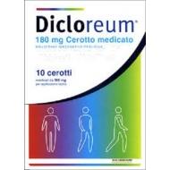 DICLOREUM ANTIDOLORIFICO 10 cerotti medicati 180 mg