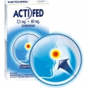 ACTIFED 12 compresse 2.5 mg +60 mg