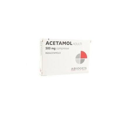 ACETAMOL ADULTI 500 mg 20 compresse