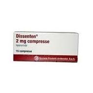 DISSENTEN 2 mg 15 compresse