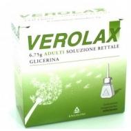 VEROLAX ADULTI SUPPOSTE GLICERINA 18 supposte 2.25 gr