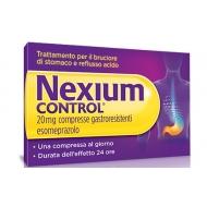 NEXIUM CONTROL 20 mg 14 compresse gastroresistenti