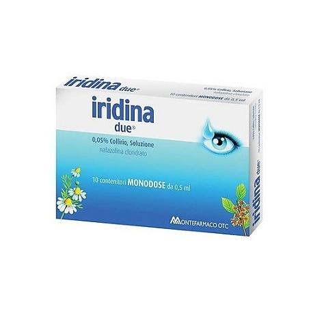 IRIDINA DUE COLLIRIO MONODOSE 10 flaconcini da 0.5 ml