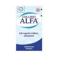 COLLIRIO ALFA 0.8 mg/ml 10 flaconcini 0.3 ml