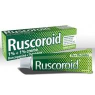 RUSCOROID CREMA RETTALE 1% + 1%  40 g