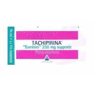 TACHIPIRINA BB 10 SUPPOSTE 250 mg