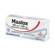 MAALOX 400 mg +400 mg 40 compresse masticabili