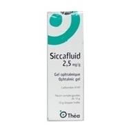 SICCAFLUID GEL OFTALMICO 2.5 mg/ g  10 g