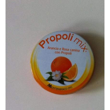 PROPOLI MIX ARANCIA e ROSA CANINA 30 caramelle