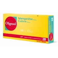 LABCATAL OLIGOSOL MANGANESE/RAME 28 fiale