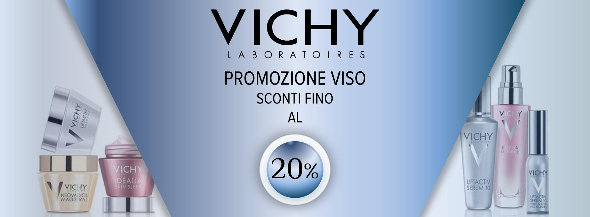 VICHY CREME VISO fino al 20%